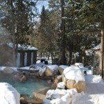 Nordic spa in the Laurentians