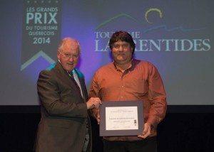 Auberge & Spa Beaux Rêves Est Gagnant Aux Grands Prix Du Tourisme Québécois 2014