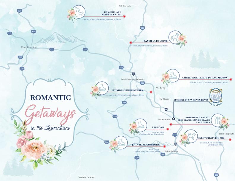 Romantic Getaways In The Laurentians This Winter