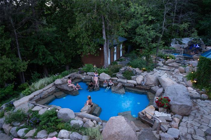 Poolside Activities
