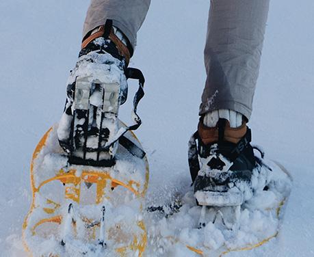 Winter Activity Laurentians_Snowshoeing