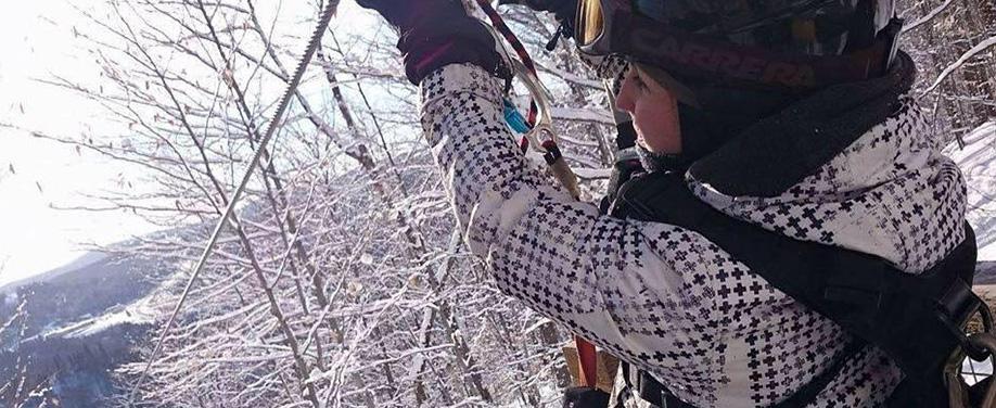 Winter Activity Laurentians_Ziplining